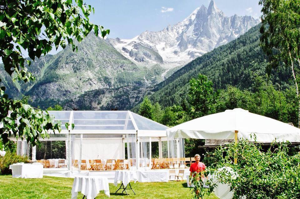 Location d'une structure à Chamonix en Haute-Savoie