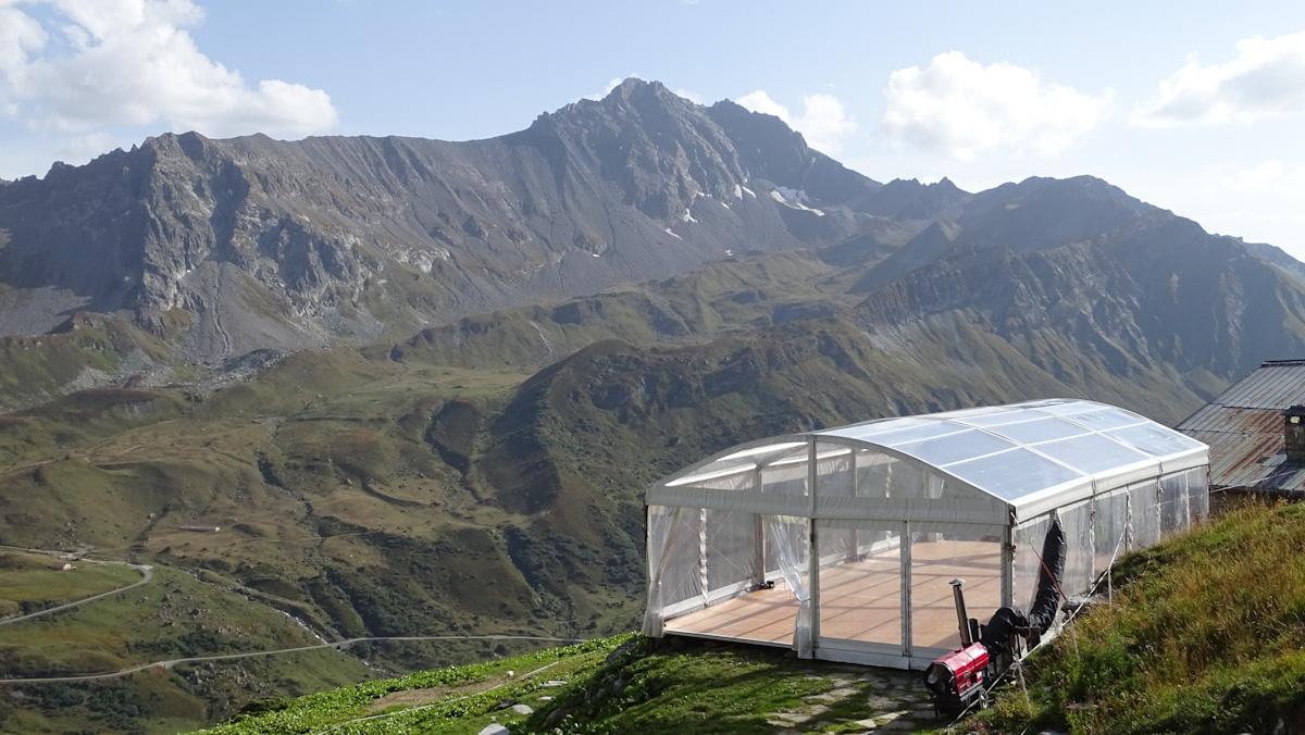 Location d'un chapiteau pour un mariage en Savoie